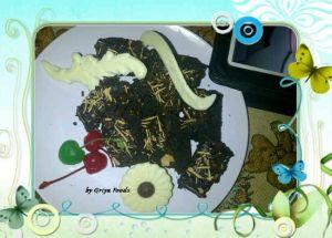 Brownies Coklat, Bronies Pekanbaru, Oleh-oleh pekanbaru, Kue pekanbaru, Broinies kukus, Brownies Pangang