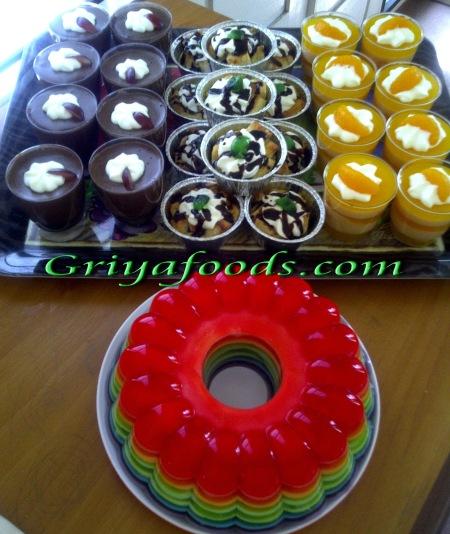 Aneka Puding ala Griya foods
