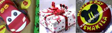 Fondant cake, Jula Fondant cake, kursus fondant cake, fondant Pekanbaru, tart ultah fondant